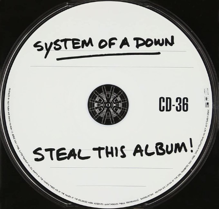 System Of A Down「Steal This Album!」